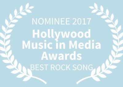 NOMINEE, 2017 Hollywood Music in Media Awards, BEST ROCK SONG WB