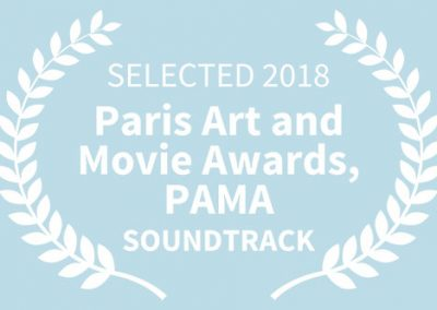 SELECTED, 2018 Paris Art and Movie Awards (PAMA), SOUNDTRACK
