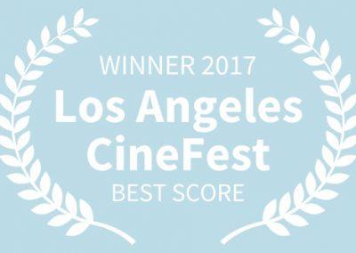 WINNER, 2017 Los Angeles CineFest, BEST SCORE WB