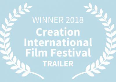 WINNER, 2018 Creation International Film Festival, TRAILER